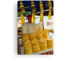 Honey and Cheese Canvas Print