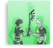 Kingdom Hearts Keyblade Masters Sora Ventus Canvas Print