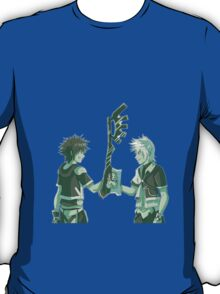 Kingdom Hearts Keyblade Masters Sora Ventus T-Shirt