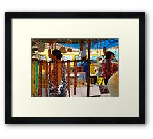 Hanging Honey Framed Print