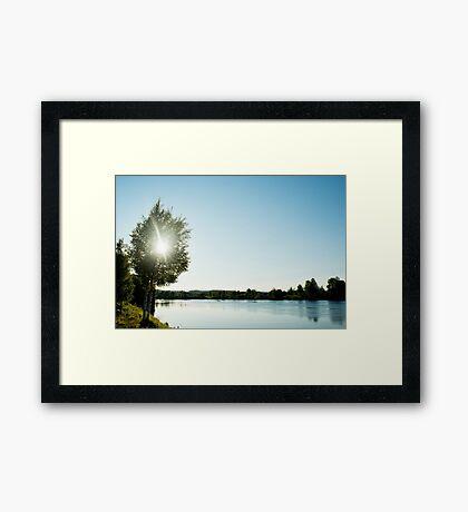 Vännänget, Vindelälven Framed Print