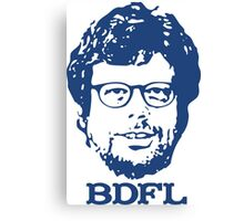 Guido + BDFL Canvas Print