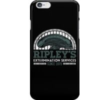 Ripley's Extermination Services iPhone Case/Skin