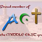Art of the Middle East group logo by Lior Goldenberg