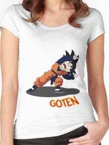 Dragon Ball Goten Fusion Women's Fitted Scoop T-Shirt
