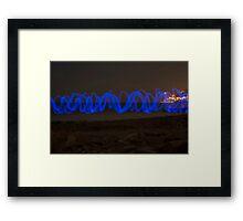 Sine Wave Framed Print