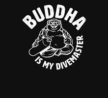 Buddha is my Divemaster- Light print on dark Unisex T-Shirt