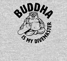 Buddha is my Divemaster- Dark print on light T-Shirt