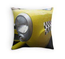 old taxi Throw Pillow
