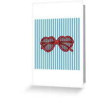 Summer Sunnies Greeting Card