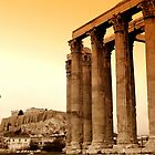 Temple of Olympian Zeus  by MEV Photographs
