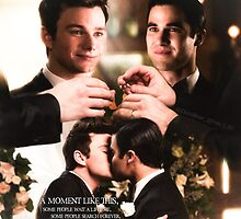 Glee: Klaine Wedding by DareBearEfron