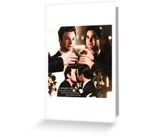 Glee: Klaine Wedding Greeting Card