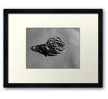 Linear Sculpture #1 Framed Print