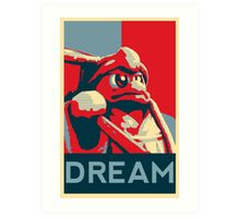 Dedede For President Art Print