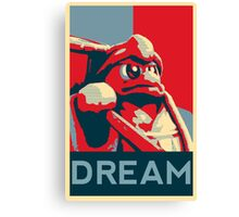 Dedede For President Canvas Print