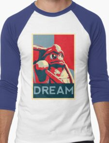 Dedede For President Men's Baseball ¾ T-Shirt
