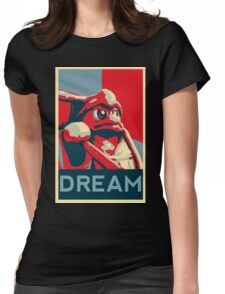 Dedede For President Womens Fitted T-Shirt