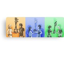Keyblade Masters Canvas Print
