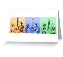 Keyblade Masters Greeting Card