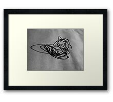 Linear Sculpture #2 Framed Print