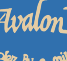 Avalon - New Jersey. Sticker