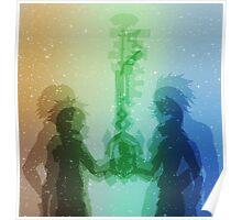 Kingdom Hearts Design Poster