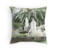 Pioneer Graves Throw Pillow