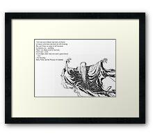 The Dementor Framed Print
