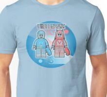 Tron - Brick Minifigure Character, 80's  Unisex T-Shirt
