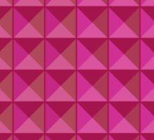 Pattern: Pink Tiles Sticker