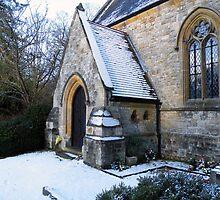High Beech Church Essex by Steve  Elliott
