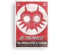 Majora's Mask Apocalypse Poster Canvas Print