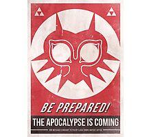 Majora's Mask Apocalypse Poster Photographic Print