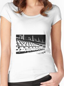 The Granstand... Women's Fitted Scoop T-Shirt