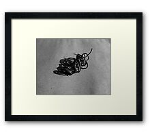 Linear Sculpture #4 Framed Print