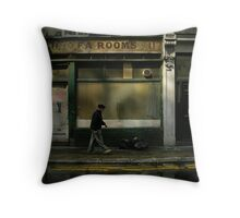tea rooms Throw Pillow