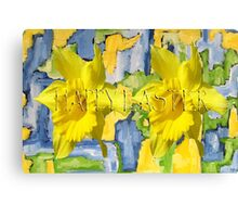 EASTER 65 Canvas Print