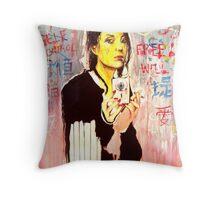 The Artiste  Throw Pillow