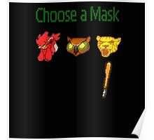 Hotline Miami - Choose a Mask Poster