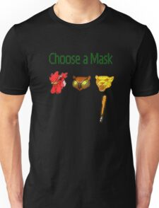 Hotline Miami - Choose a Mask Unisex T-Shirt