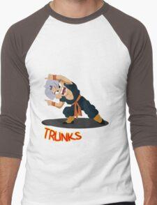 Dragon Ball Trunks Fusion Men's Baseball ¾ T-Shirt