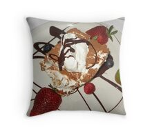 Dessert At Tramanto Throw Pillow