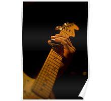 Slide Guitar Poster