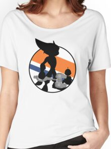 Ratchet & Clank Silhouette Women's Relaxed Fit T-Shirt