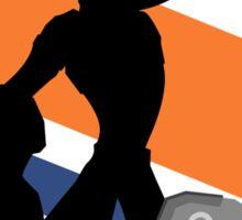 Ratchet & Clank Silhouette Sticker