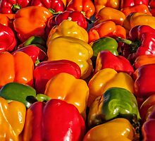 Sweet Bell Peppers by PhotosByHealy