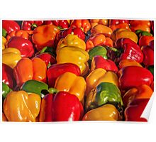 Sweet Bell Peppers Poster