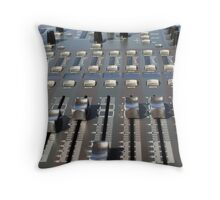 Mix Console Throw Pillow