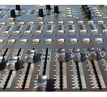 Mix Console Photographic Print